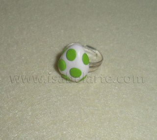 Ring egg inspired by Yoshi
